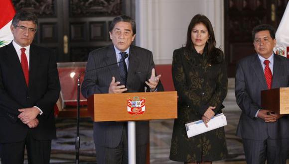 Gobierno anunció que mañana se retomará el diálogo con las fuerzas y partidos políticos. (Luis Gonzales)