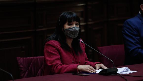 La congresista Mirtha Vasquez es vicepresidenta de la Comisión de Ética Parlamentaria. (Foto: GEC)