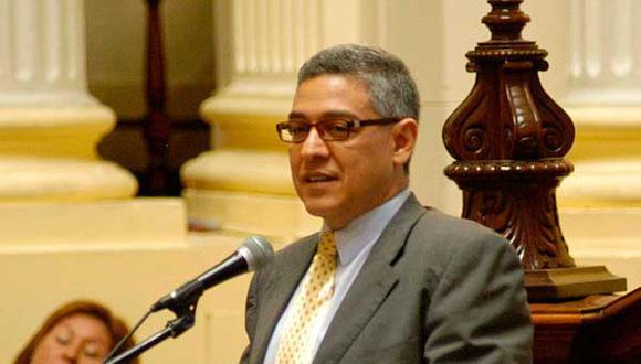 José Manuel Elice Navarro asume como nuevo ministro del Interior. (Foto: Congreso de la República)