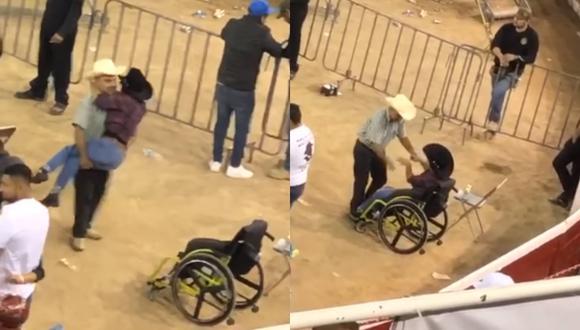 Así fue como este padre de familia le regaló un hermoso baile a su pequeña hija que se encontraba en silla de ruedas expectante en un concierto en México. (Foto: Quadratin Tlaxcala Oficial)