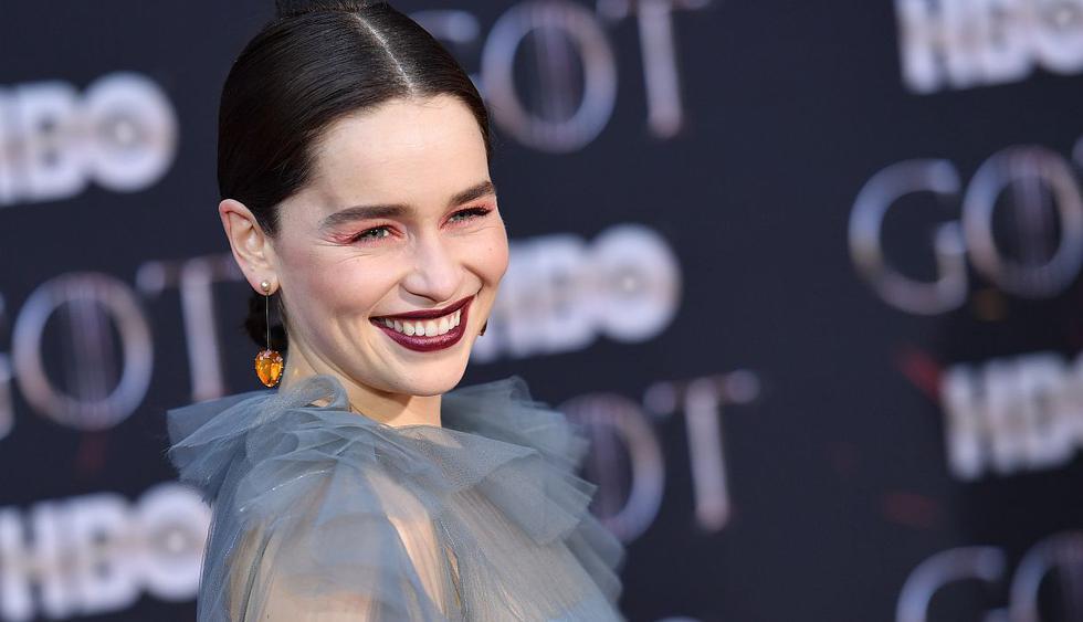"""Emilia Clarke reveló el motivo por el que rechazó protagonizar """"Cincuenta sombras de Grey"""". (Foto: AFP)"""