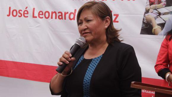 """""""Nosotros vamos a cuidar que atestado vaya con el sustento debido para que no se caiga la denuncia"""", añadió. (Perú21)"""