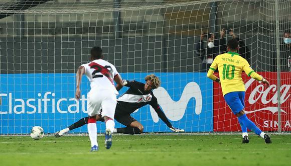 Perú vs. Brasil: El doblete de Neymar | Foto: AP