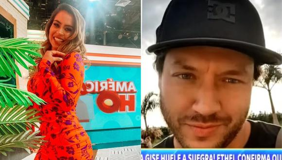 Ethel Pozo tiene una relación amorosa con Julián Alexander, ex director de telenovelas en 'Del Barrio Producciones'. (Foto: @lapozo/Captura Magaly TV: La Firme)