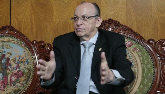 CNM niega que se haya archivado investigación a fiscal José Peláez. (Mario Zapata)