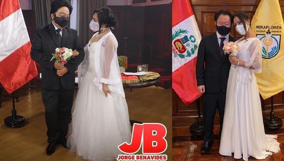 Jorge Benavides tiene lista la parodia de la boda de Kenji Fujimori en 'El Wasap' y publica adelanto