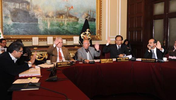 Sigue trabajando. La Comisión de Ética declaró ayer improcedentes cuatro denuncias. (Difusión)