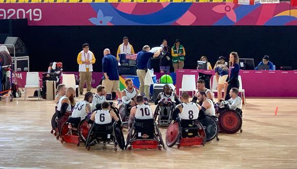 El equipo estadounidense logró amplia ventaja frente al equipo peruano. (Juegos Panamericanos)