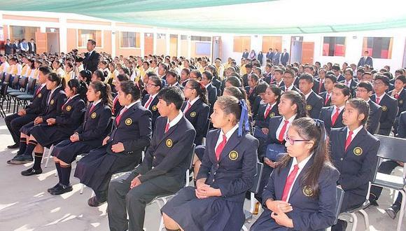 Alumnos del Colegio de Alto Rendimiento. (Foto archivo)