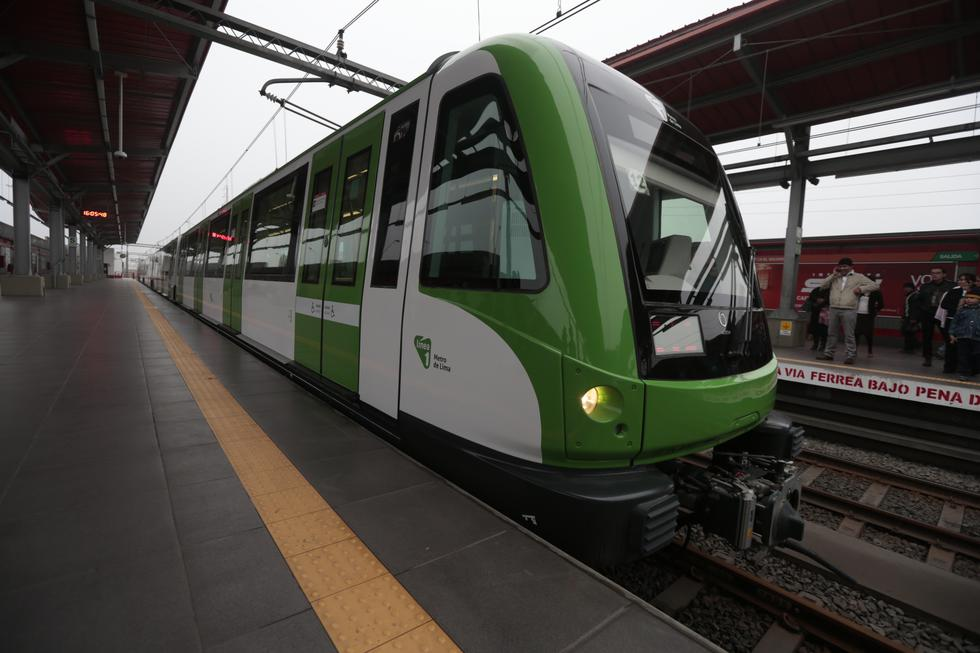 Línea 1 del Metro de Lima. (USI)