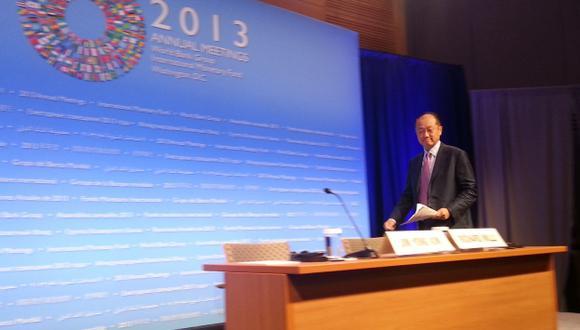 HAY MEJORA. Yong Kim destaca reducción de la pobreza en región. (Gina Sandoval)