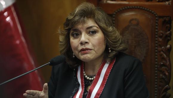 Zoraida Ávalosse pronunció sobre la discusión de una nueva Ley Orgánica del Ministerio Público y se mostró a favor de aumentar el número de fiscales supremos que forman parte de la Junta de Fiscales Supremos. (Foto: GEC)