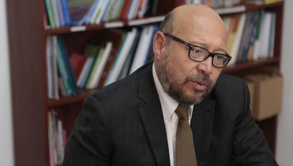 """Percy Medina: """"El proceso electoral está bastante manoseado"""". (Roberto Cáceres)"""