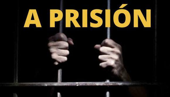 El sentenciado tiene 44 años y es natural de Huamachuco.