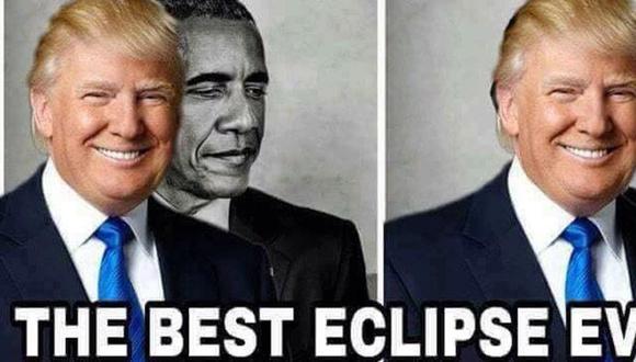 El meme de Donald Trump que causa polémica.