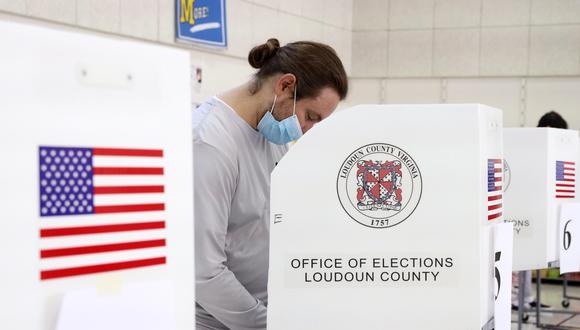 La votación anticipada ha batido récords este año en Estados Unidos debido a la pandemia de coronavirus. (Foto: EFE)