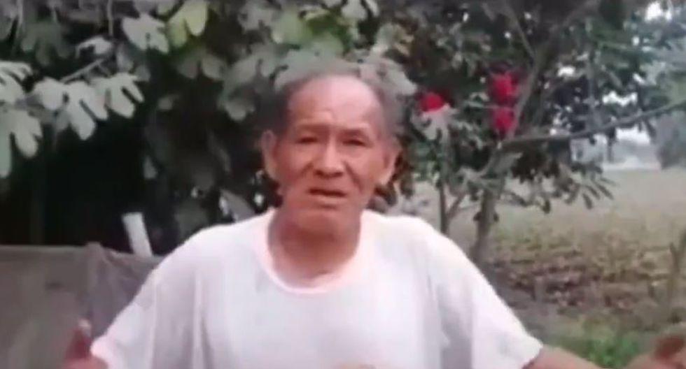 Campesino dio ejemplo de humildad, bondad y honradez. (Captura)