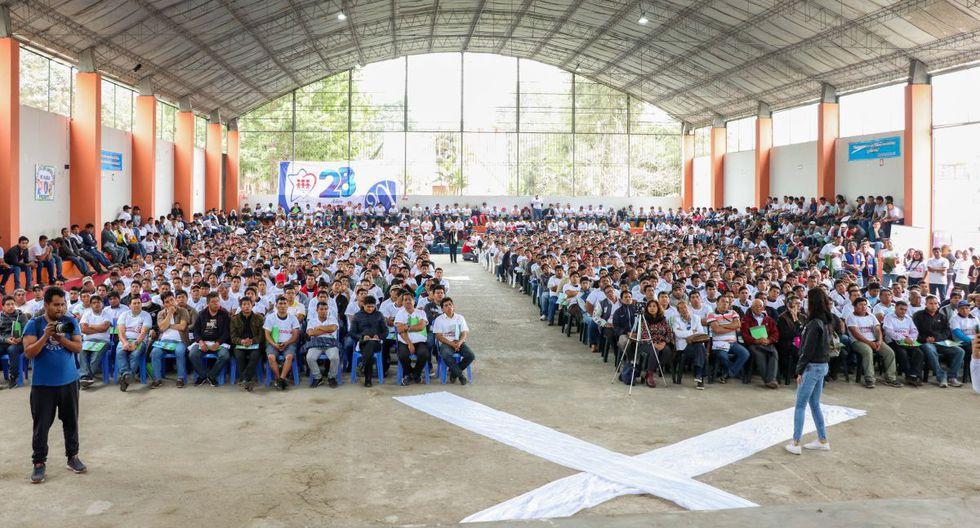 """El evento se realizó en la Institución Educativa 3720 """"Nuestra Señora de la Misericordia"""" (Foto: Colegio 3720 de Ventanilla)"""