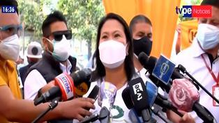 "Keiko Fujimori advierte a Evo Morales: ""No se meta con el Perú"""