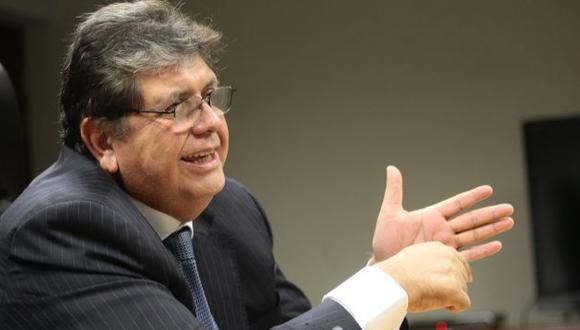 Un fallo judicial anuló la investigación a Alan García en el trabajo. (Perú21)