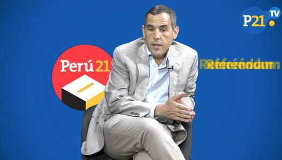Gonzalo Zegarra analiza resultados del referéndum. (Perú21)
