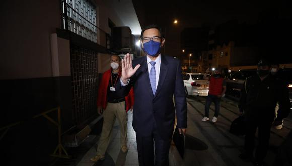 El presidente Martín Vizcarra negó los dichos del aspirante a colaborador eficaz ante el equipo especial Lava Jato. (Foto: César Bueno / @photo.gec)