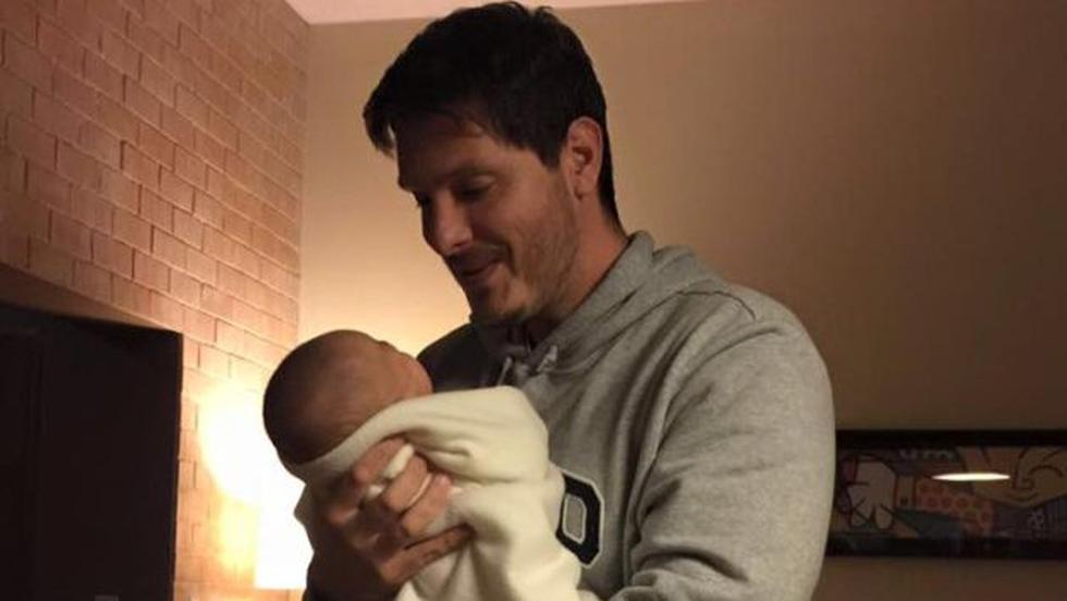 Cristian Rivero se emociona por el amor hacia su hijo y le dedica un tierno mensaje. (Facebook)