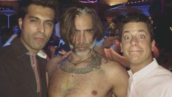 Estuvo en una despedida de soltero que se celebró en una discoteca en Las Vegas. (Twitter)