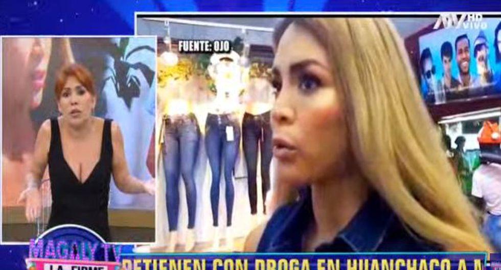 Esto dijo Magaly Medina sobre Sheyla Rojas. (Imagen: ATV)