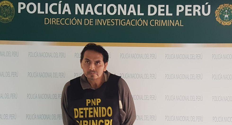 Marcelino Pizarro era buscado desde hace cinco años por la justicia. (PNP)