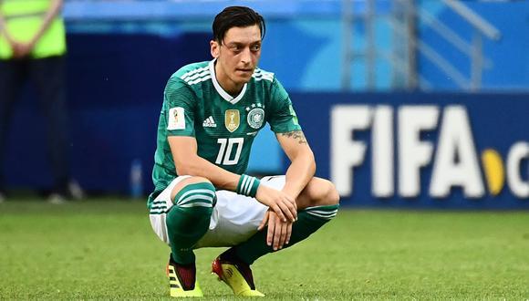 Mesut Ozil fue campeón del mundo con Alemania en 2014. (AFP)