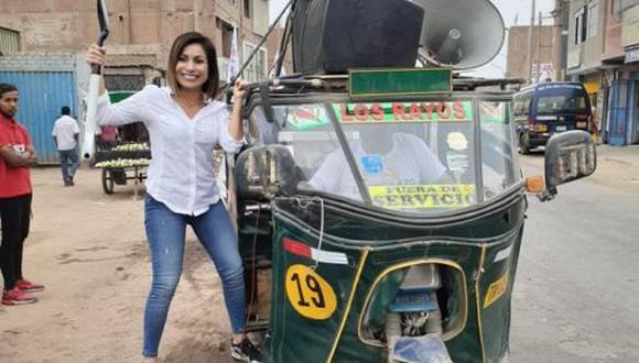 Congresista Leslye Lazo pertenece a la bancada de Acción Popular por Lima. Foto: Facebook