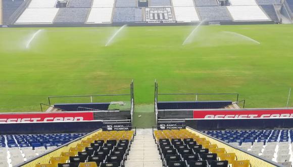 Evaluarán si el estadio Alejandro Villanueva puede albergar a ambulantes de La Victoria. (Foto: Alianza Lima)