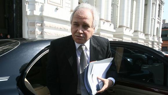 SANCIÓN. Eguiguren confirmó medidas contra reo Humala. (USI)