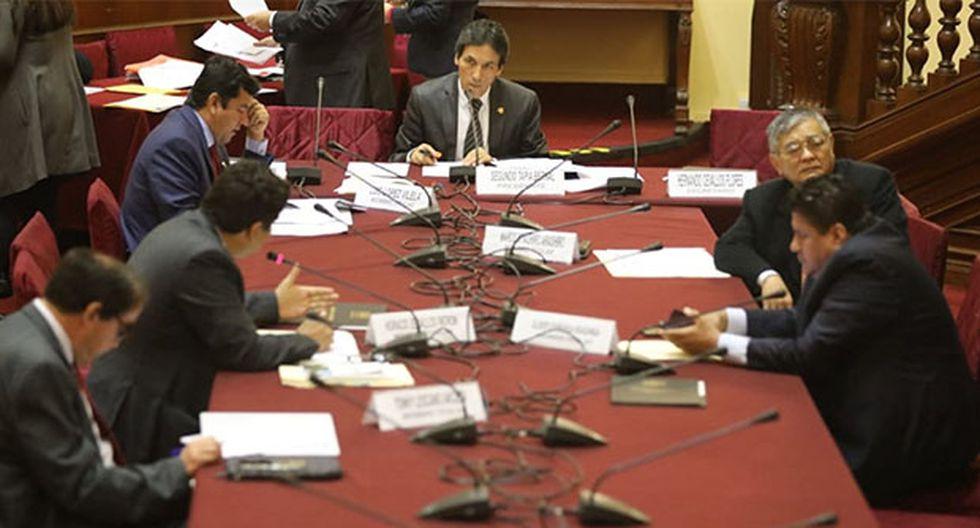 Comisión de Fiscalización acordó crear grupo para investigar a las empresas encuestadoras, a solicitud de Fuerza Popular. (Foto: GEC)