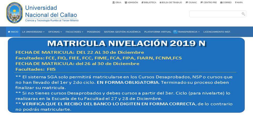 Universidad del Callao