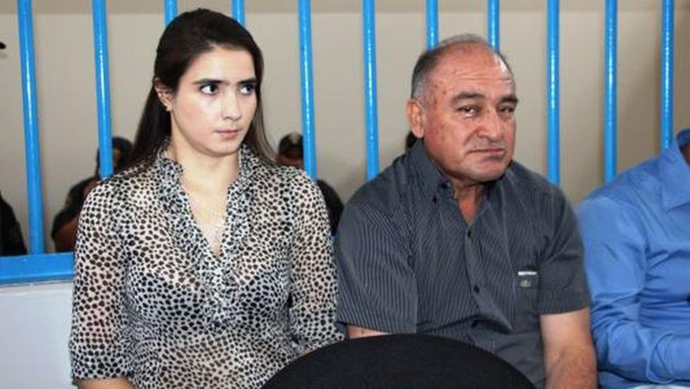 Roberto Torres y Katiuska del Castillo tendrán encuentros familiares en el penal. (USI)
