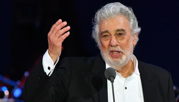 El tenor español Plácido Domingo pasó varios años de su vida en México. (Foto: AFP)