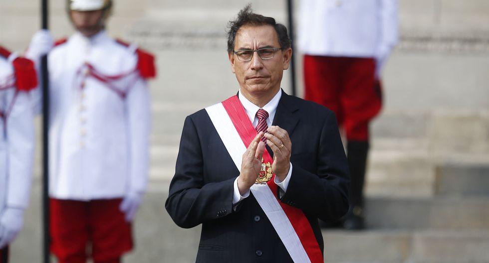 El presidente de la República, Martín Vizcarra, fue invitado al cambio de mando de la Sociedad de Comercio Exterior del Perú (Comexperu).