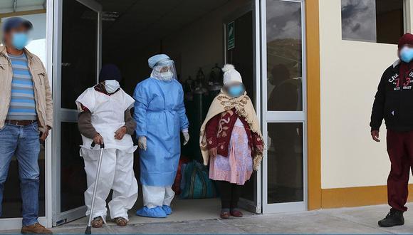 Pasco: cinco pacientes que padecían de coronavirus fueron dados de alta (Foto: Diresa Pasco).