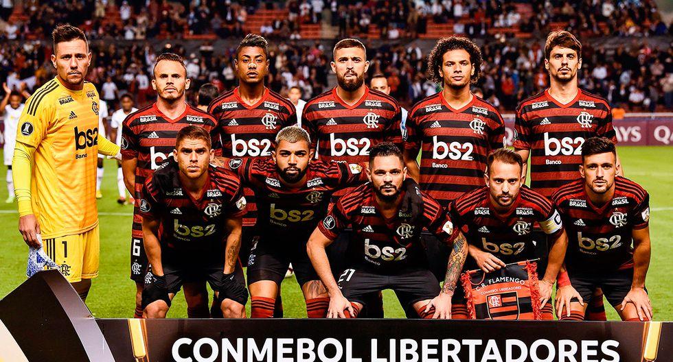 Flamengo de Brasil. (Foto: AFP)