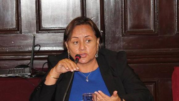 Rosa Núñez ingresó al Congreso en el 2013 tras el desafuero del ex legislador Michael Urtecho.