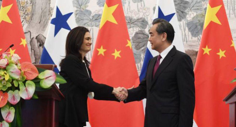 Cancilleres de Panamá y China se reunieron en Pekín tras el anuncio (Getty)