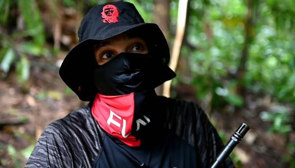 """El líder del ELN conocido por el alias de """"Uriel"""" es el cabecilla de uno de los frentes más activos de esa guerrilla en Colombia. (Foto: AFP)"""