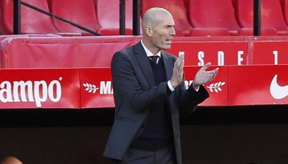 Zinedine Zidane cumple su segunda etapa en el Real Madrid. (Foto: EFE)