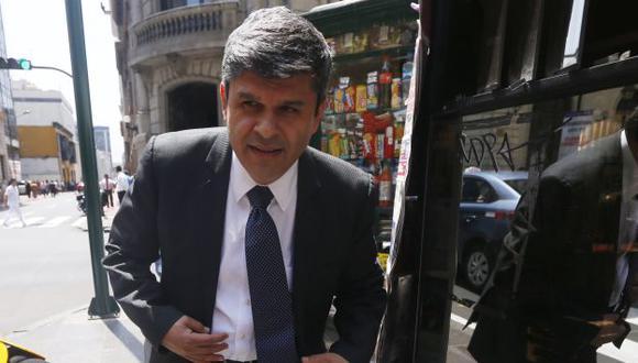 Santiago Gastañadui afirma que no habrá imparcialidad en la investigación. (Mario Zapata/Perú21)