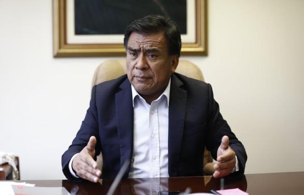 Velásquez Quesquén consideró inaceptable que el Congreso se someta al Poder Ejecutivo. (GEC)