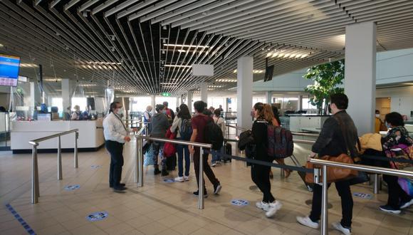 Casi 300 peruanos retornaron el jueves al Perú procedente de 23 países. (Foto: Cancillería)