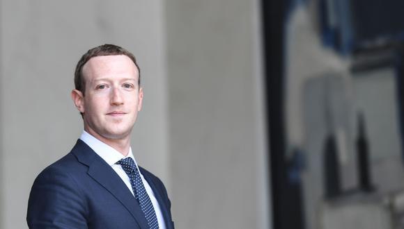 La red social creada por Mark Zuckerberg es investigada en un comité de Reino Unido por el escándalo de uso indebido de datos personales (AFP).