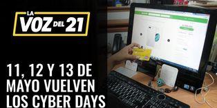 Vuelven los Cyber Days, este 11, 12 y 13 de mayo